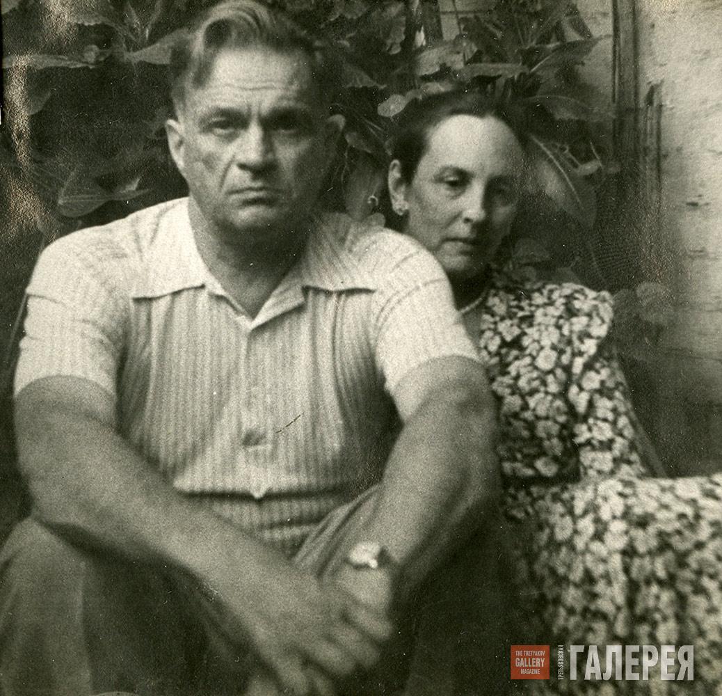 NATALYA NESTEROVA AND FYODOR BULGAKOV. 1957