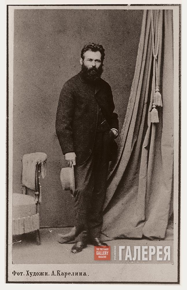 Ivan Shishkin. Photo. Early 1870s