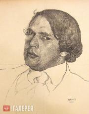 Bakst Léon. Portrait of Alexei Tolstoy