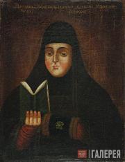 Unknown artist 17th century. Portrait of Martha the Nun