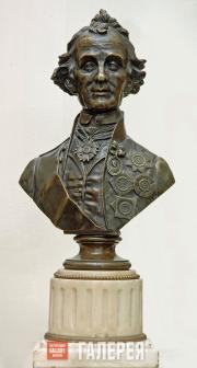 Неизвестный скульптор. Бюст А.В. Суворова. 1804