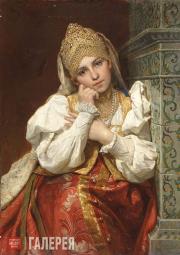 Ф.С. Журавлев. Боярышня. 1896 (?)
