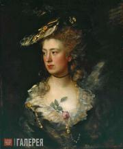 Gainsborough Thomas. The Artist's Daughter Mary. 1777
