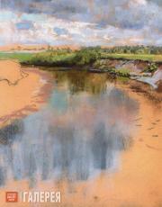 Yakunchikova Maria. Bend of the River (the Oka). Early 1890s