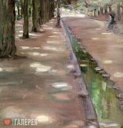 Yakunchikova Maria. Avenue in the Bois de Boulogne. 1898
