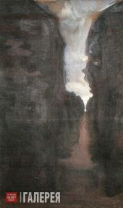 Якунчикова Мария. Темная аллея. 1898