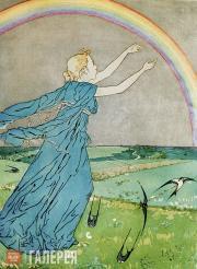 Yakunchikova Maria. Rainbow. First half of 1890s