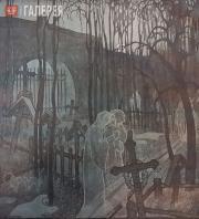 А. Юнгер Лирическая пародия на декадентскую «кладбищенскую» иконографию, в пейза