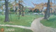 Yakunchikova Maria. Summer Landscape. 1889