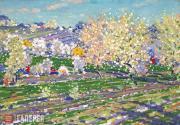 Purvītis Vilhelms. In Spring (A Time of Bloom). 1933-1934