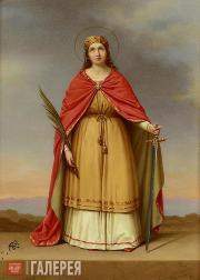 Святая (предположительно царица Александра)