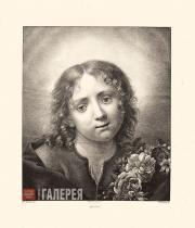 Franz Dahmen. The Infant Christ with a Floral Wreath