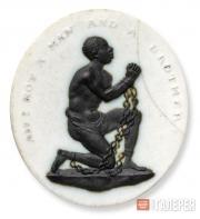Эмблема движения за отмену рабства. Медальон из яшмового Фаянса. 1787