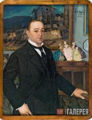 Вербов Михаил. Портрет Леонида Витальевича Собинова. 1922