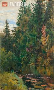 Polenov Vasily. The Vorya River. 1880