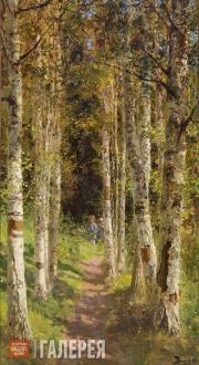 Polenov Vasily. Birchwood Alley. 1880
