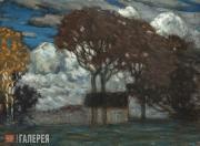 Purvītis Vilhelms. Landscape (Autumn Mood). No later than 1908