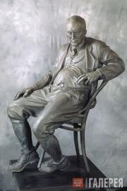 Рукавишников Александр. Памятник Владимиру Набокову. 1999