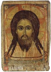 Неизвестный художник. Икона «Спас Нерукотворный». XIV в.