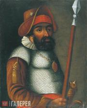 Unknown artist of the 18th century. Portrait of Yermak
