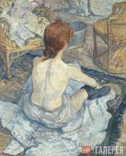 Toulouse-Lautrec Henri. La Toilette. 1889