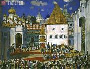 Юон Константин. Площадь в Кремле