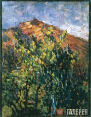 Jawlensky Alexei. La Montagne (The Mountain). 1905