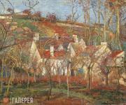 Camille PISSARRO. Red Roofs, Corner of a Village, Winter (Cote de Saint-Denis at