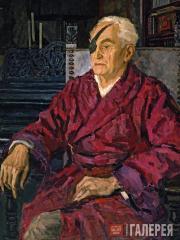 Gorsky Andrei. Portrait of Mikhail Kurilko. 1952