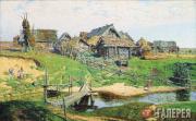 Polenov Vasily. Russian Village. 1889