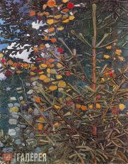 Якунчикова Мария. Осинка и елочка. 1896