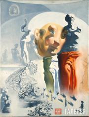 Этюд к картине «Галлюциногенный тореро». Около 1968–1970