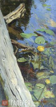 Polenova Yelena. Water Lilies