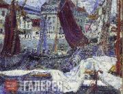Б.И.Анисфельд. Гавань. 1910