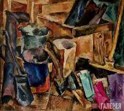 Konchalovsky Pyotr. Still Life. Axe. 1918
