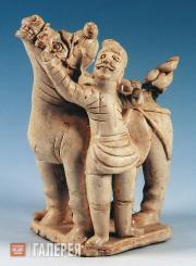 Man Leading a Horse. 11th century