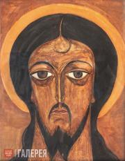Гончарова Наталия. Лик Христа. 1916