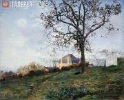Pokhitonov Ivan. True-Louette. Autumn Evening. 1895