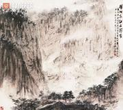 Fu Baoshi. A Manifestation on Landscape since Adolescence. 1961