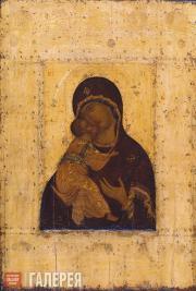 Рублев Андрей (?). Богоматерь Владимирская. 1395 или 1408