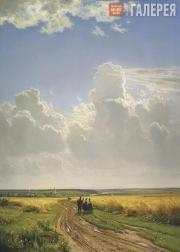Шишкин Иван Иванович. Полдень. В окрестностях Москвы. 1869