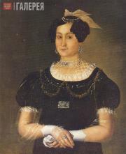 Ivan TARKHANOV. Portrait of Yevdokia Dmitrievna Surina (1808-before 1845), First