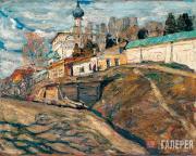 Isupov Alexei. The Monastery. 1910