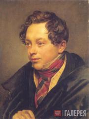 Kiprensky Orest. A Portrait of Pyotr Basin. 1829