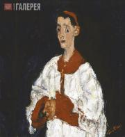 Soutine Chaim. The Choir Boy. Circa 1927-1928