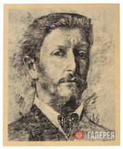 М.А.Врубель. Автопортрет. 1904–1905