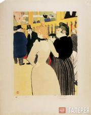 Toulouse-Lautrec Henri. At the Moulin Rouge: La Goulue and the Môme Fromage. 189