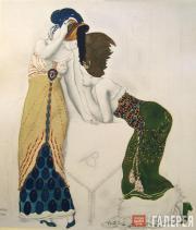 Léon BAKST. A fantasy on modern costume. 1912