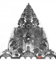 Билибин Иван. Покорение Казани. Эскиз росписи плафона Башни прибытия Казанского