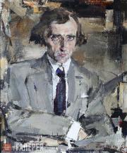 Fechin Nikolai. Portrait of Nikolai Yevreinov. 1920s